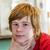 retrato · adolescente · nino · pubertad · positivo · cara - foto stock © meinzahn