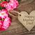 hecho · a · mano · madres · día · tarjeta · rosa · rosas - foto stock © melpomene