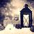 Рождества · фонарь · украшения · снега · серебро · небе - Сток-фото © melpomene