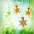 Navidad · estrellas · adornos · luces · árbol - foto stock © Melpomene