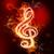 ognia · muzyki · ikona · osoby · strony - zdjęcia stock © melpomene