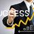 üzletember · rajz · emelkedő · nyíl · növekvő · zöld - stock fotó © melpomene
