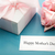 mothers day card with gift box and roses stock photo © melpomene