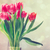 red tulips in vintage style stock photo © melpomene
