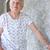 gepensioneerd · vrouw · permanente · buiten · huis · vrouwelijke - stockfoto © melpomene