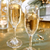 champagne glasses on the dinner table stock photo © melpomene