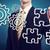 zakenman · puzzelstukjes · strategie · creativiteit · teamwerk - stockfoto © melpomene