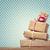 bağbozumu · hediye · kutusu · küçük · kalpler · ahşap - stok fotoğraf © melpomene