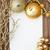 Noel · gümüş · süsler · bo · dekorasyon - stok fotoğraf © melpomene