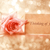 Thinking of you message with vintage rose stock photo © Melpomene