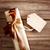 ár · címke · címke · fából · készült · papír · háttér - stock fotó © melpomene