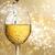 üveg · csillámlás · arany · buli · absztrakt · bár - stock fotó © melpomene