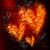 szenvedély · égő · szív · tűz · illusztráció · absztrakt - stock fotó © melpomene
