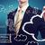 üzletember · kék · felhő · alapú · technológia · technológia · üzlet · üzletember - stock fotó © melpomene