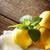 citroen · vruchten · balsem · kruid · blad · geïsoleerd - stockfoto © melpomene