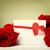 anyák · nap · üzenet · vörös · rózsák · kártya · gyönyörű - stock fotó © melpomene