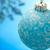 blue christmas ornament stock photo © melpomene