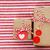 el · yapımı · küçük · hediye · kutusu · kalp · etiket - stok fotoğraf © melpomene