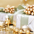 oro · Natale · scatola · regalo · ornamenti · scintilla · luci - foto d'archivio © melpomene