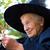 ведьмой · женщину · Хэллоуин · костюм · движущихся · рук - Сток-фото © melpomene