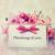 pensando · flores · textura · amor · fondo · regalo - foto stock © Melpomene