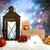Weihnachten · rot · Schnee · Kopie · Raum · glücklich - stock foto © melpomene
