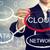 Cloud · Computing · Flussdiagramm · Geschäftsmann · Skyline · Business · Himmel - stock foto © melpomene