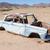 abandoned car in the namib desert stock photo © michaklootwijk