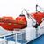судно · оранжевый · выживание · сидеть · палуба · промышленных - Сток-фото © michaklootwijk