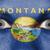 ogen · vlag · geschilderd · gezicht · Montana - stockfoto © michaklootwijk