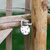 bloccato · catene · lock · isolato · bianco · sicurezza - foto d'archivio © michaklootwijk