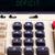 古い · 電卓 · 赤字 · 文字 · 表示 - ストックフォト © michaklootwijk