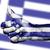 Görögország · zászló · öreg · izolált · fehér · papír - stock fotó © michaklootwijk