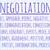 negotiation word cloud stock photo © michaklootwijk