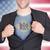 zakenman · opening · pak · shirt · vlag · USA - stockfoto © michaklootwijk