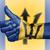 oude · vrouw · teken · geïsoleerd · vlag · Barbados - stockfoto © michaklootwijk