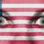 ogen · vlag · geschilderd · gezicht · Liberia - stockfoto © michaklootwijk