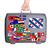 használt · műanyag · bőrönd · matricák · kicsi · nagy - stock fotó © michaklootwijk