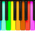 rainbow piano keys stock photo © michaklootwijk