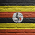brick wall with a painting of a flag uganda stock photo © michaklootwijk