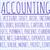 accounting word cloud stock photo © michaklootwijk