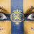 ogen · vlag · geschilderd · gezicht · koninkrijk - stockfoto © michaklootwijk