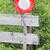 ограничение · скорости · знак · американский · изолированный · белый · копия · пространства - Сток-фото © michaklootwijk