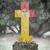 oude · grafsteen · begraafplaats · sicilië · gras · achtergrond - stockfoto © michaklootwijk