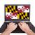 USA · Maryland · zászló · fehér · 3d · illusztráció · textúra - stock fotó © michaklootwijk