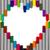 kırmızı · mum · boya · kalp · sevmek · boyalı · kalp · şekli - stok fotoğraf © michaklootwijk