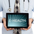 doctor holding tablet   e health stock photo © michaklootwijk