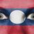 ogen · vlag · geschilderd · gezicht · Laos - stockfoto © michaklootwijk