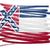 USA · skicc · zászló · sziluett · térkép · Egyesült · Államok - stock fotó © michaklootwijk