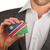 ビジネスマン · 名刺 · ナミビア · フラグ · ワーカー - ストックフォト © michaklootwijk